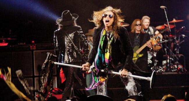 Los legendarios Aerosmith regresan a Chile