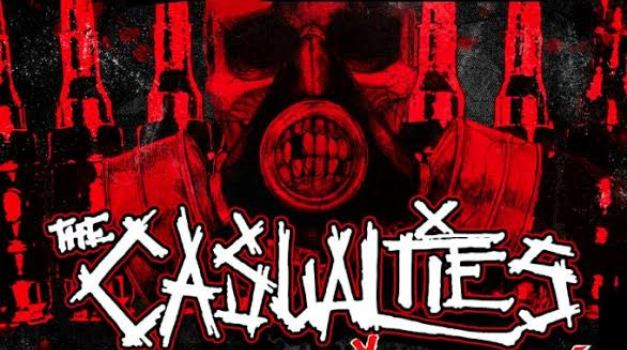 Ganadores entradas The Casualties en Chile, 14 de Marzo