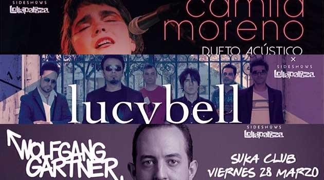 Camila Moreno, Lucybell y Wolfgang Gartner confirmados como sideshow de Lollapalooza Chile 2014