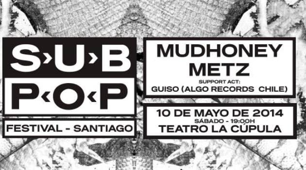 Mudhoney vuelve a Chile en el Sub Pop Festival Santiago