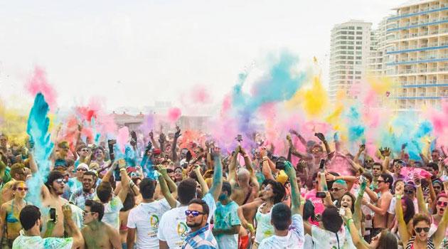 Holi Festival Of Colours llega a Chile