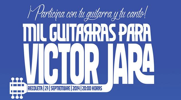 "Participa en homenaje musical: ""Mil Guitarras para Víctor Jara"""