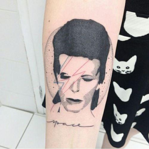 Bowie tatto 2