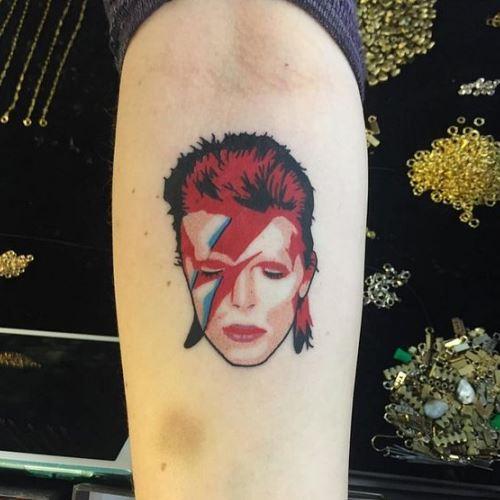 Bowie tatto 7
