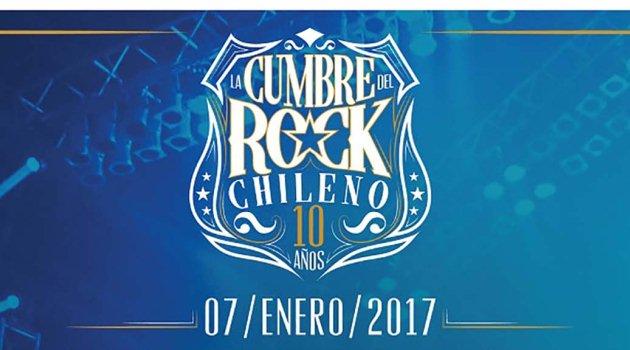 Sepa todo sobre la Cumbre del Rock Chileno 2017
