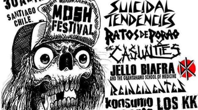 Mosh Festival suspende concierto a tres días de realizarse