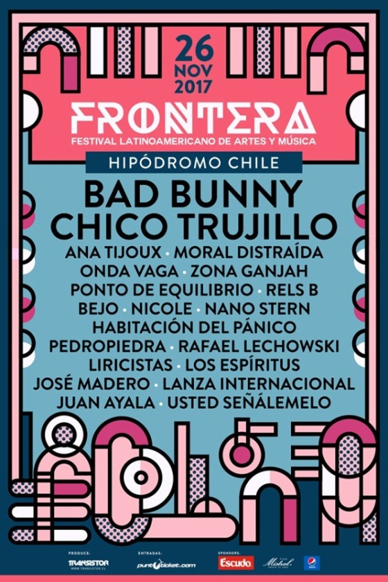 line up frontera festival 2017