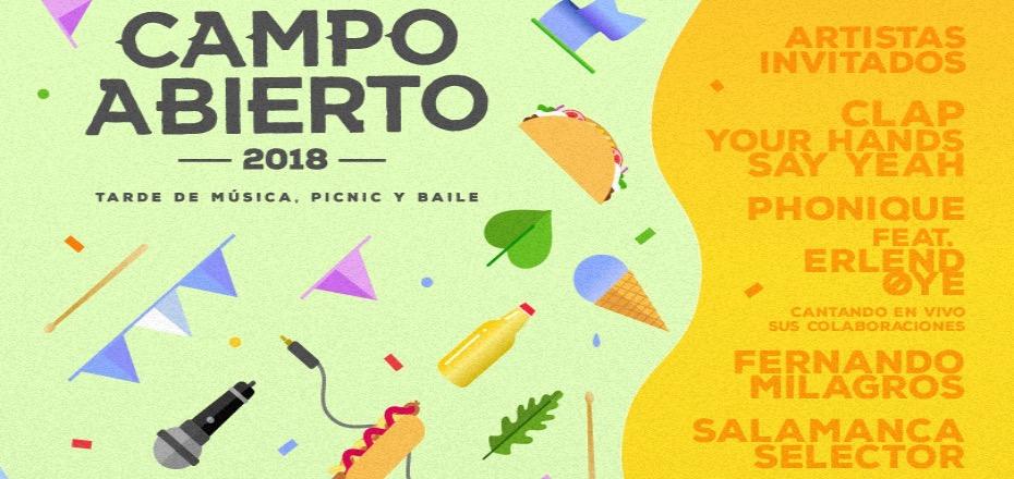 Clap Your Hands Say Yeah y más se presentan en Campo Abierto