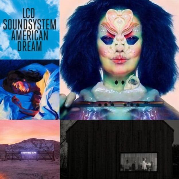 Top 5: Los mejores discos anglo que nos dejó el 2017