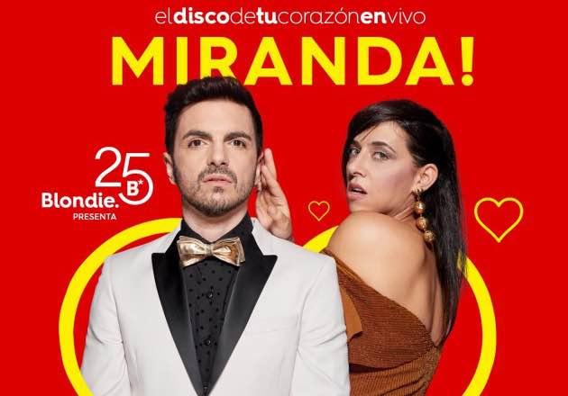 """Miranda! presentará """"El disco de tu corazón"""" en Blondie"""