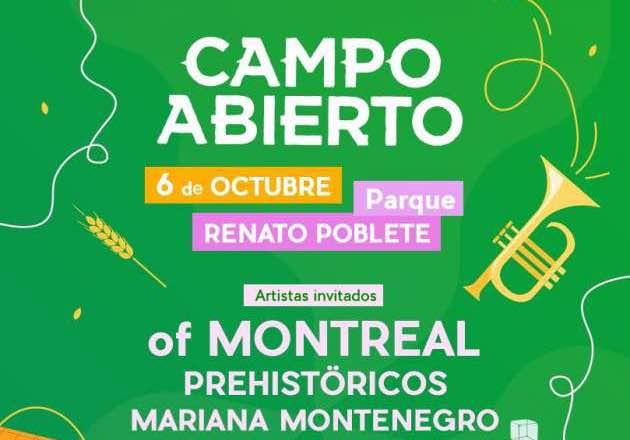 Festival Campo Abierto anuncia fecha y line up para este 2018