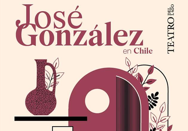 José González, el músico sueco-argentino fija show en Teatro del Lago