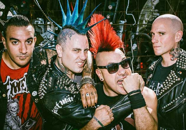 The Casualties regresa a Chile este Domingo 16 de Diciembre