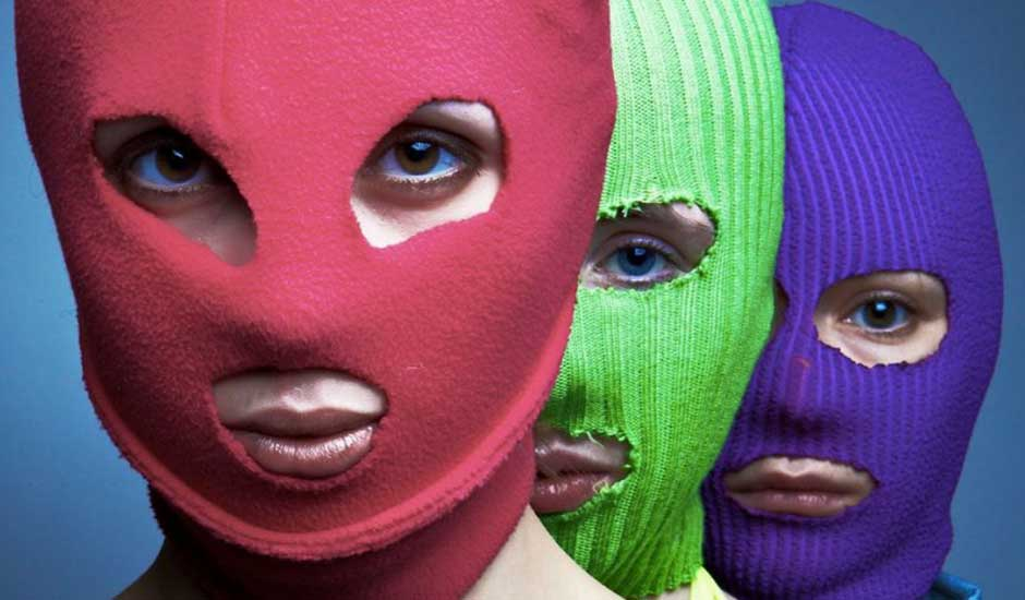 Colectivo Ruso, Pussy Riot llega a Chile con un show punk