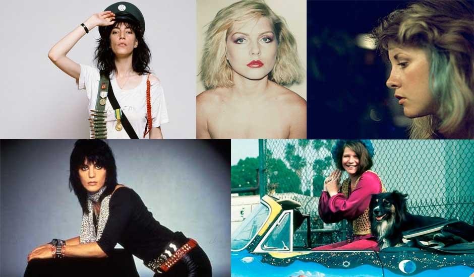 Top 5: Mujeres que marcaron la música del rock