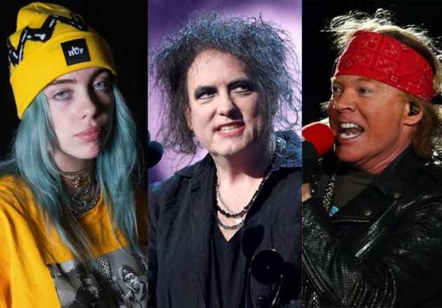 Lineup de Austin City Limits 2019: The Cure, Guns N' Roses, Billie Eilish y más