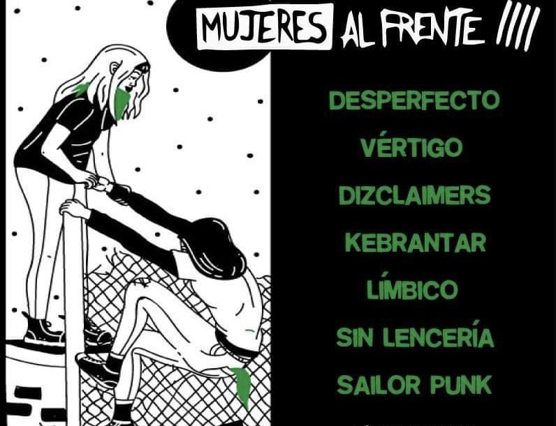 Jornada feminista de música punk de mujeres