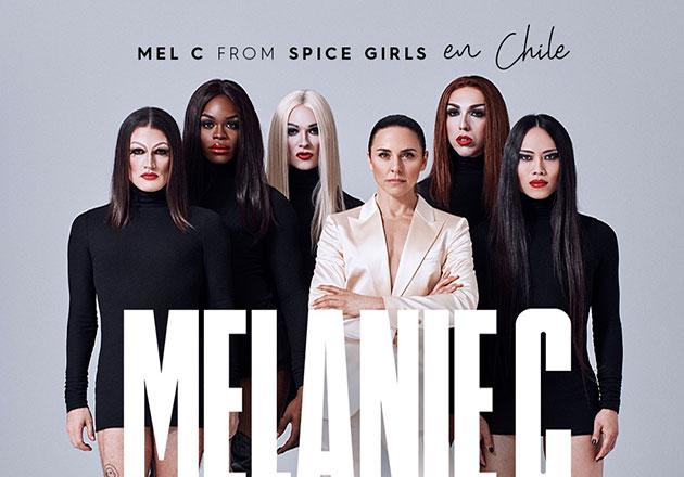 Mel C de Spice Girls junto a su proyecto Sink The Pink en Blondie