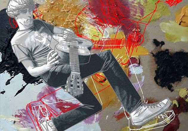 Diego Billordo vuelve a Chile con su Anti Folk Tour