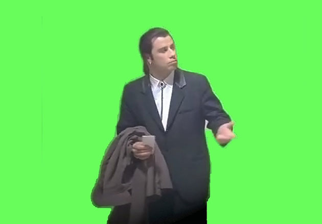 John Travolta confundió a Taylor Swift con drag queen en los MTV VMAs