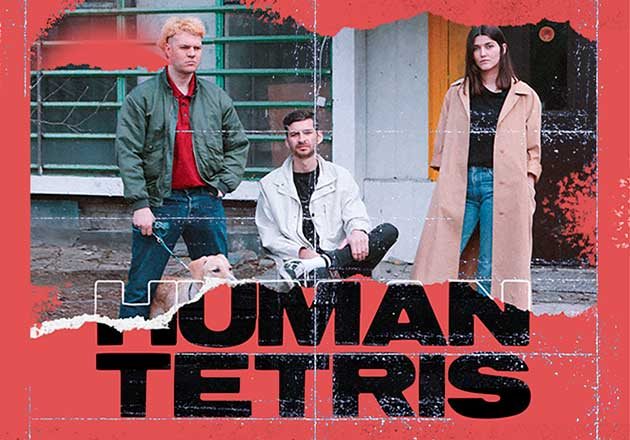 Human Tetris confirma show en Chile y suma a Intimate Stranger como teloneros