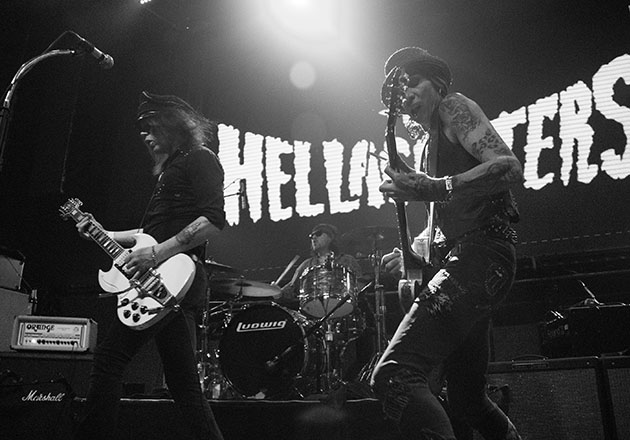Fotos de The Hellacopters en Club Blondie 2020