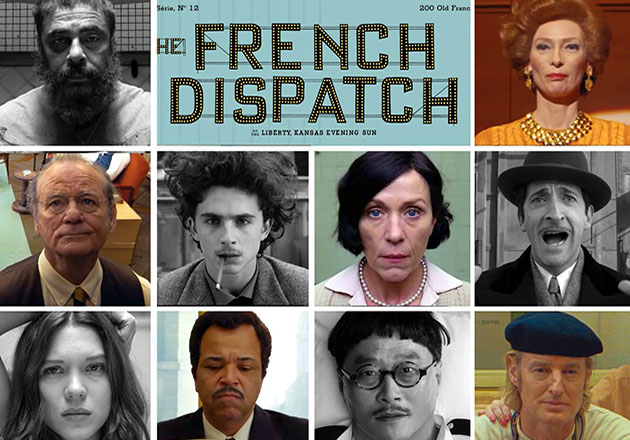 The French Dispatch 2021