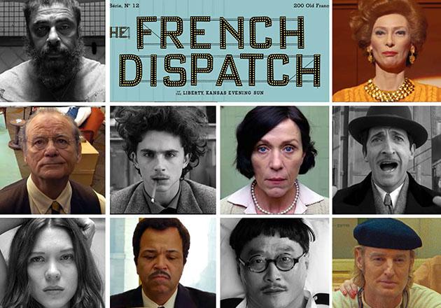 The French Dispatch de Wes Anderson se estrenará el 2021