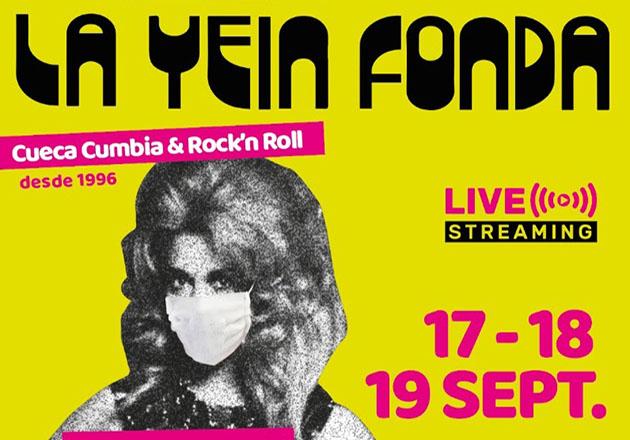 La Yein Fonda 2020 se realizará vía streaming