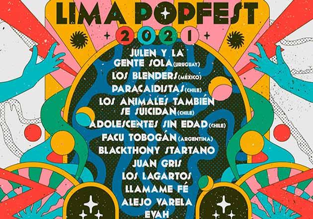 Lima Popfest 2021 se realizará vía streaming y gratis